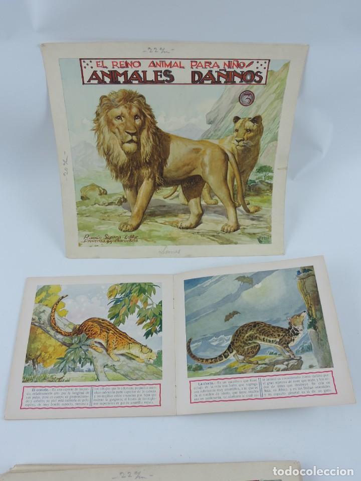 Arte: Acuarela original de la portada del cuento Animales Dañinos 3, ilustrador Luis Palao, junto con el c - Foto 4 - 195355805