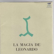 Arte: LA MAGIA DE LEONARDO. 5 ESPLENDIDOS DIBUJOS DEL GRAN MAESTRO. READER'S DIGEST.. Lote 195377010