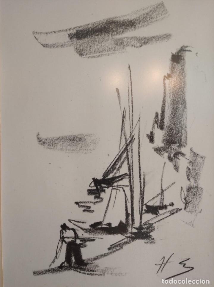 Arte: Bocetos al carboncillo Ignacio del Río. - Foto 3 - 195379320