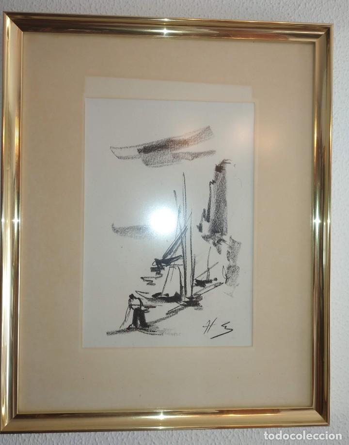 Arte: Bocetos al carboncillo Ignacio del Río. - Foto 4 - 195379320