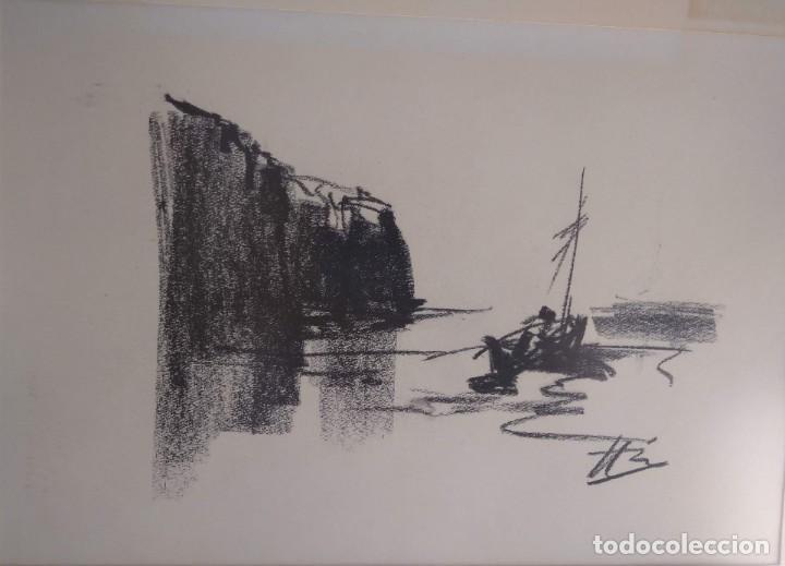 Arte: Bocetos al carboncillo Ignacio del Río. - Foto 5 - 195379320