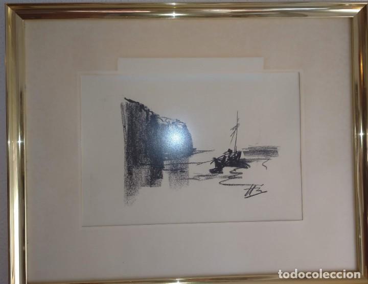 Arte: Bocetos al carboncillo Ignacio del Río. - Foto 6 - 195379320