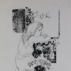 Art: DIBUJO GOYO DOMINGUEZ. Lote 195909913