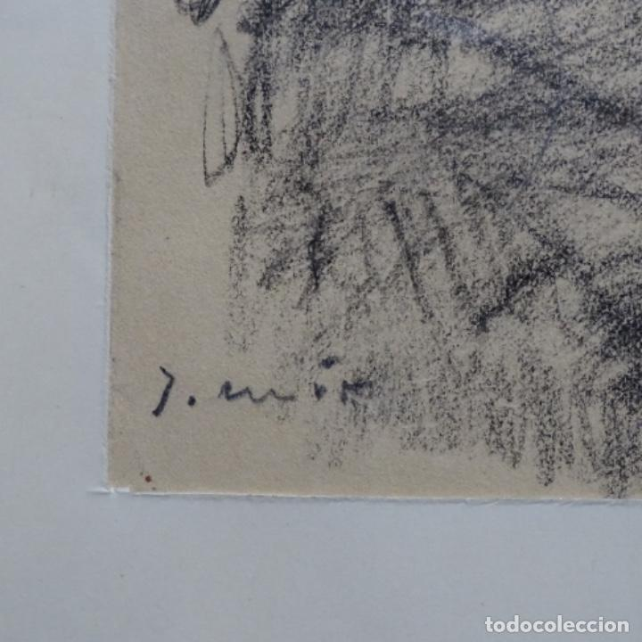 Arte: Bonito dibujo a carboncillo de Joaquín mir(1873-1940). - Foto 6 - 196318595