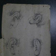 Arte: DIBUJO DE SIGLO XVIII,LAPIZ Y PLUMILLA. Lote 196593983