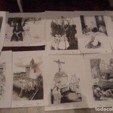 Arte: DIBUJOS DE MARIA CECILIA MARTIN 12 DIBUJOS EDITADOS POR LA DIPUTACION DE SALAMANCA PERFECTOS . Lote 197046077