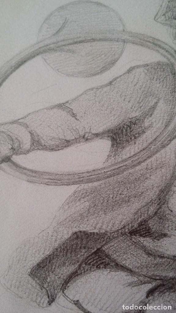 Arte: Dibujo de niño jugando, XIX - Foto 5 - 197189588