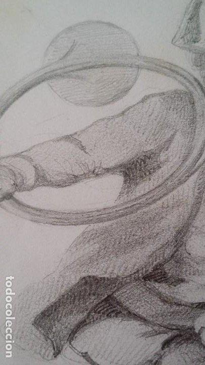 Arte: Dibujo de niño jugando, XIX - Foto 8 - 197189588