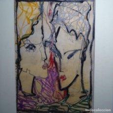 Arte: GRAN DIBUJO DE COLORES FIRMADO A. FREIXAS.. Lote 197313746
