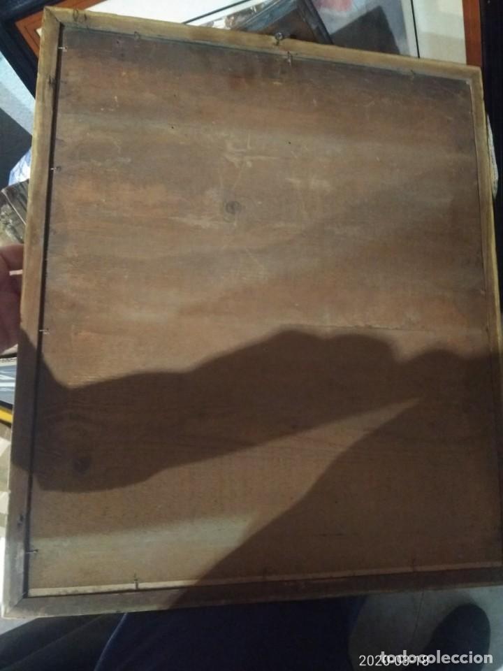 Arte: Magnifico retrato pintado a mano al carboncillo y pastel de caballero siglo xix firma a identificar - Foto 5 - 197523578