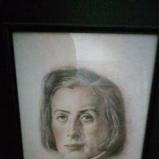 Arte: RETRATO DE CHOPIN BERNARDINO PANTORBA 1945. Lote 197638505