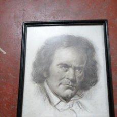 Arte: RETRATO DE BEETHOVEN. Lote 197638726