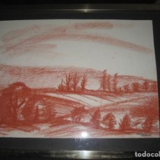 Arte: DIBUJO FIRMADO POR MARTINEZ VALVERDE. Lote 197903306