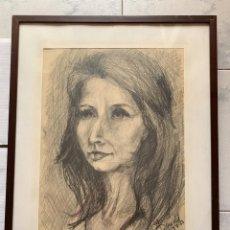 Arte: BLANCA BONALD * RETRATO GRANADA. Lote 198062831