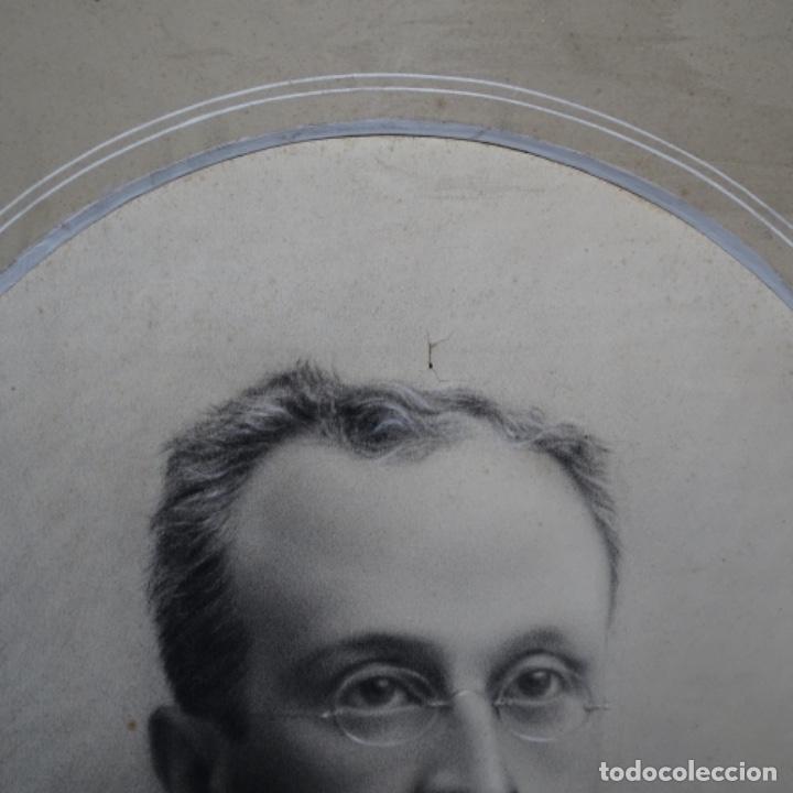 Arte: Excelentes dibujos del s. Xix.retrato a carboncillo y dibujo a color.maestro. - Foto 6 - 198605177