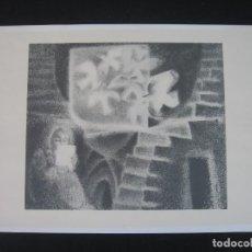 Arte: LAMINA FIRMADA POR EL AUTOR. Lote 198648697