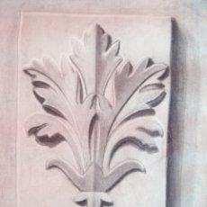 Arte: DIBUJO ACADÉMICO ANTIGUO DE 1932-1933 FIRMADO Y DATADO. Lote 198758957