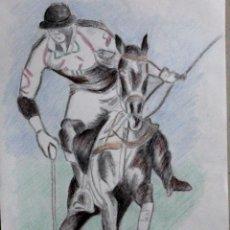 Arte: JUGADOR DE GILABERTE . Lote 198917165