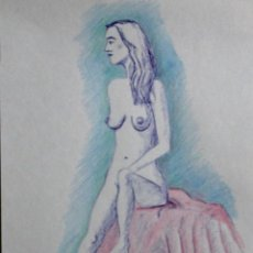 Arte: DESNUDO DE MODELO DE GILABERTE . Lote 198917316