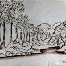 Arte: BOSQUE GILABERTE . Lote 198917737