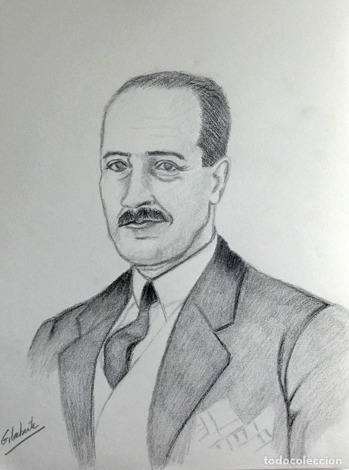 CABALLERO OBRA DE GILABERTE (Arte - Dibujos - Contemporáneos siglo XX)