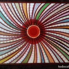 Arte: DIBUJO (ABSTRACCION). *SOL IRREAL*. (TM). D. NAVASCUES.. Lote 199220093
