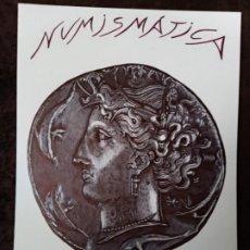 Arte: DIBUJO HIPERREALISTA.MONEDA GRIEGA: DECADRACMA DE PLATA-SIRACUSA(412-345 A.C.).(TM). DE D. NAVASCUÉS. Lote 199224092