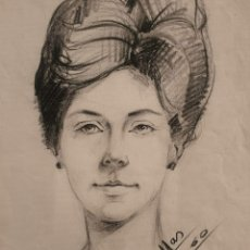 Arte: JOAN MAS I RAMON (BARCELONA, 1934) - JOVEN.PARIS.1960.. Lote 199167905
