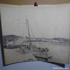 Arte: GRAN DIBUJO A LÁPIZ DE GRAN CALIDAD.ANONIMO.. Lote 199642033