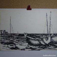 Arte: DIBUJO FIRMADO MARCH 79.BUEN TRAZO.. Lote 199645186