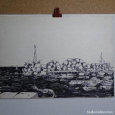 Arte: DIBUJO FIRMADO MARCH 79.BUEN TRAZO.. Lote 199645217