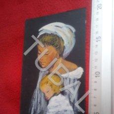 Arte: TUBAL DIBUJO ORIGINAL FIRMADO LOLITA FELICITACION NAVIDAD B68. Lote 199650911