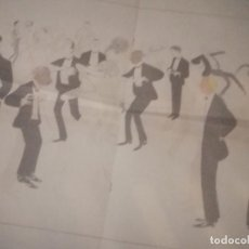 Arte: CARTEL LIBRETO A TRES CARAS SIUL UNA JOYA SIMBOLIZAMDO LA ARISTOCRACIA GAITANA JEREZANA Y SEVILLANA. Lote 199640037