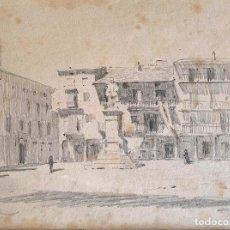 Arte: PERE BORRELL DEL CASO (1835-1910) PUIGCERDÀ 1896. Lote 199848303