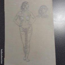 Arte: DIBUJO MODERNISTA DE PRINCIPIOS DEL XX. Lote 199867780