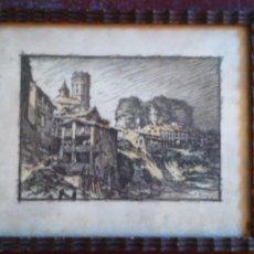 Arte: CUADRO DIBUJO F. ALMUNI-NATIVITAT DE DURRO. Lote 199968666