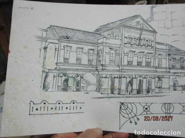 Arte: eificio dibujo boceto de leiva 91 - Foto 2 - 200120010