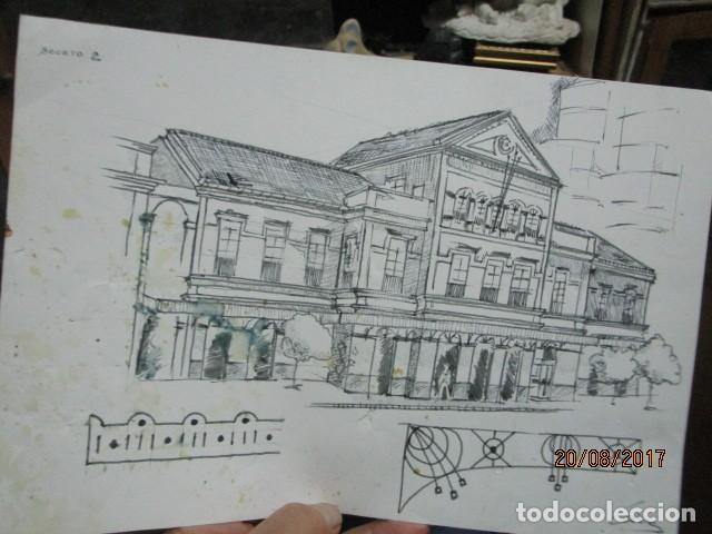Arte: eificio dibujo boceto de leiva 91 - Foto 3 - 200120010