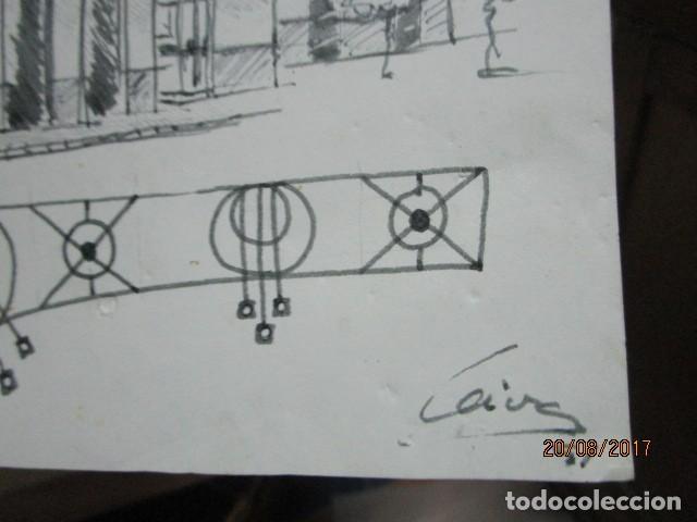 Arte: eificio dibujo boceto de leiva 91 - Foto 4 - 200120010