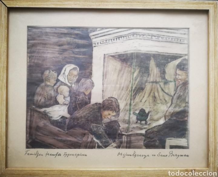 SUNE BERGMAN (1890-} (Arte - Dibujos - Modernos siglo XIX)
