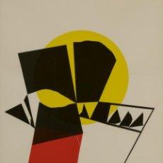 Arte: LUIS FEITO OBRA ORIGINAL Y ÚNICA COLLAGE FIRMADO NOEL 1975 ENMARCADO. Lote 200612188