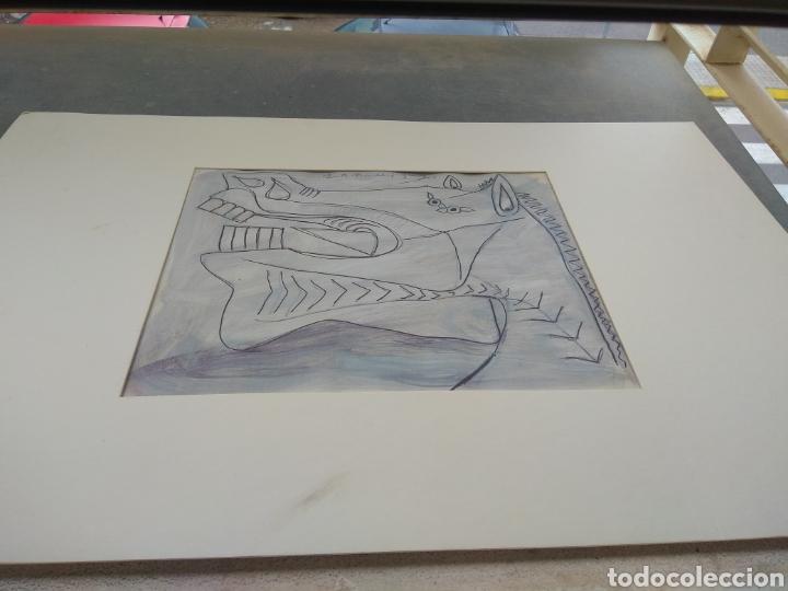 Arte: Boceto del Guernica - Pablo Picasso - Foto 2 - 33640844