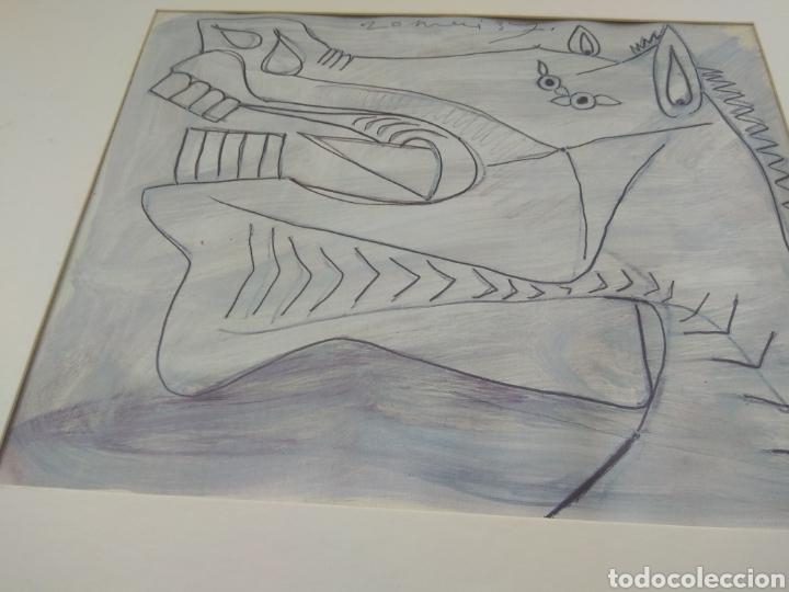 Arte: Boceto del Guernica - Pablo Picasso - Foto 4 - 33640844