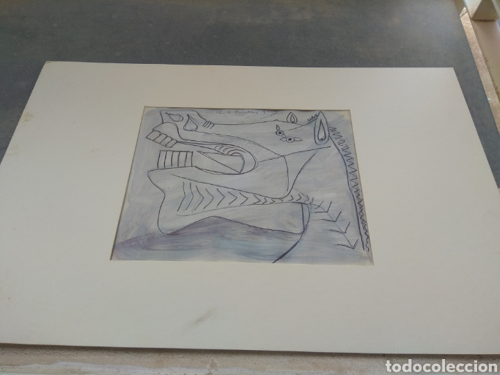 BOCETO DEL GUERNICA - PABLO PICASSO (Arte - Dibujos - Contemporáneos siglo XX)
