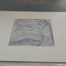 Arte: BOCETO DEL GUERNICA - PABLO PICASSO. Lote 33640844
