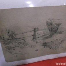 Arte: 1905 DIBUJO FIRMADO S.LAVVATITTA. Lote 201718222