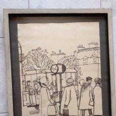 Arte: RAMON AGUILAR MORE * PARÍS 1956. Lote 201753575