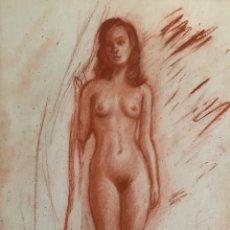 Arte: DESNUDO FEMENINO,ATRIBUIDO ALBERTO DUCE.. Lote 202331127