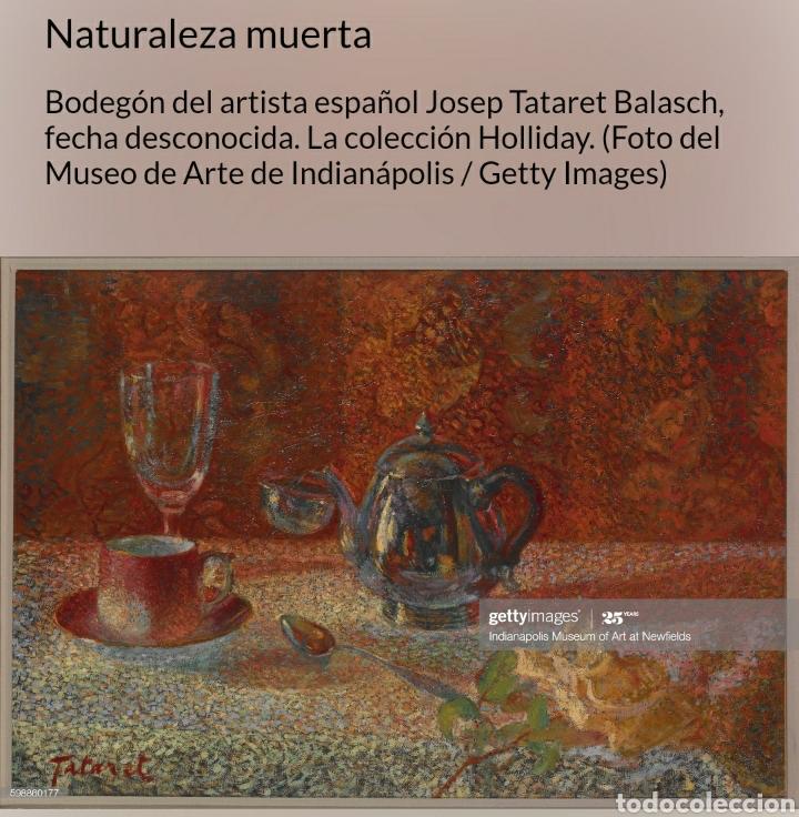 Arte: Josep Tataret Balasch (1888-1966) - Joven.Carbones/papel.1937. - Foto 13 - 176444977