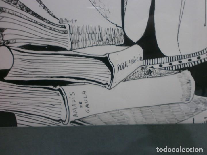 Arte: 2 cuadros originales a pinta o plumilla a expertizar famosa autora raquel clemente años 1967 y 1969 - Foto 25 - 202791060